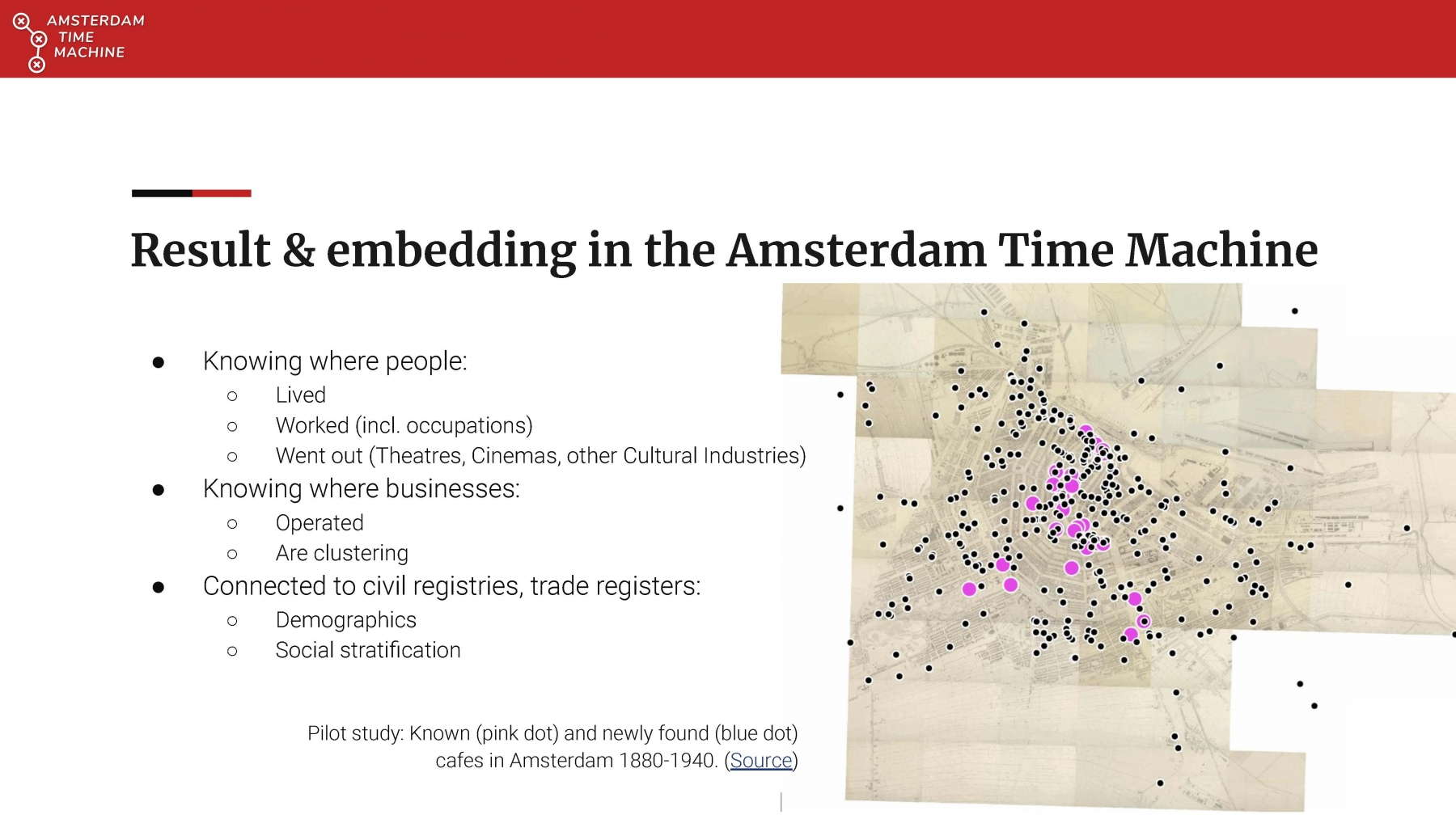 Amsterdam Time Machine Project (pres. by Leon van Wissen)