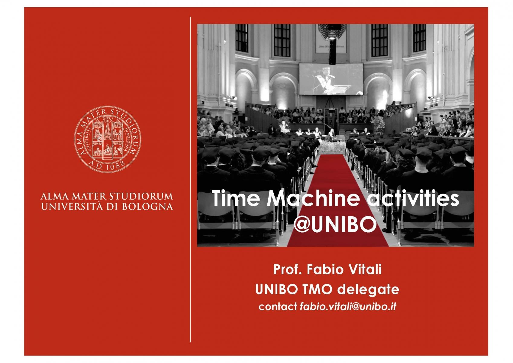 University of Bologna (pres.by Fabio Vitali)